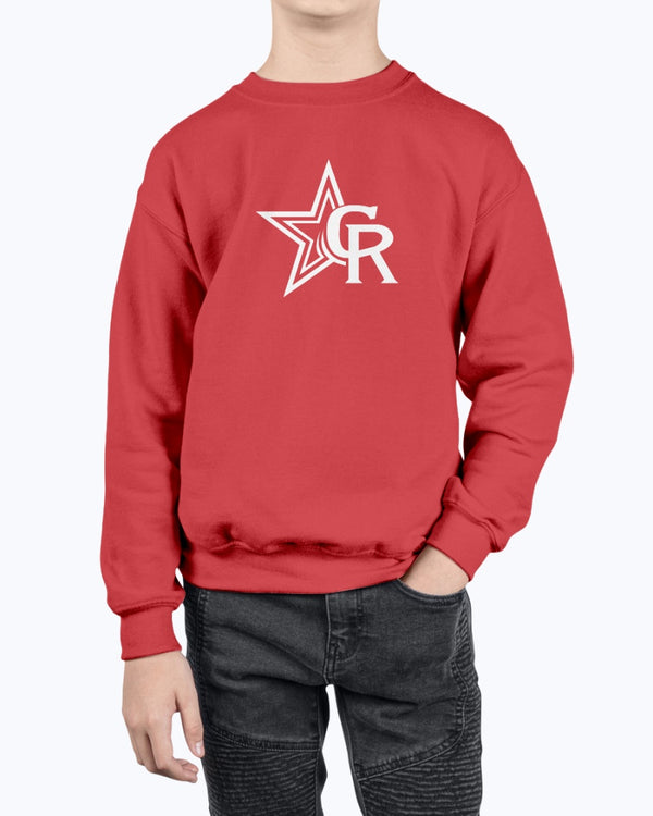 Crimson Rangers Youth Sweatshirt - Marching Band Gear
