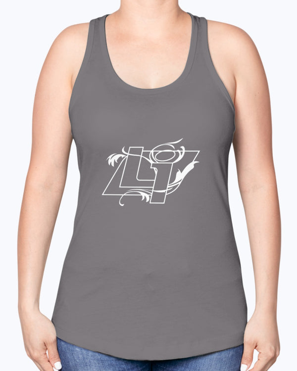 Women's Lakeside Independent Logo Racerback Tank Top - Marching Band Gear