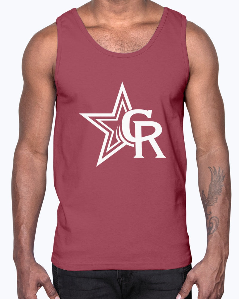 Crimson Rangers Ultra Cotton Tank Top - Marching Band Gear