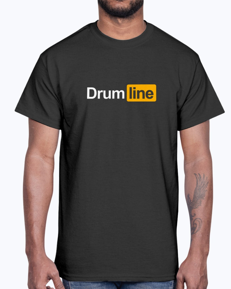 Drumline Hub T-Shirt - Marching Band Gear