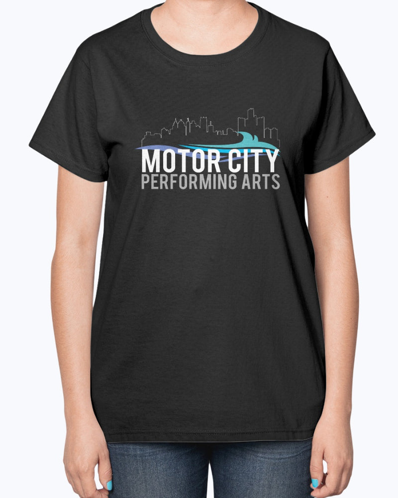 Motor City Performing Arts Ultra Ladies T-Shirt - Marching Band Gear