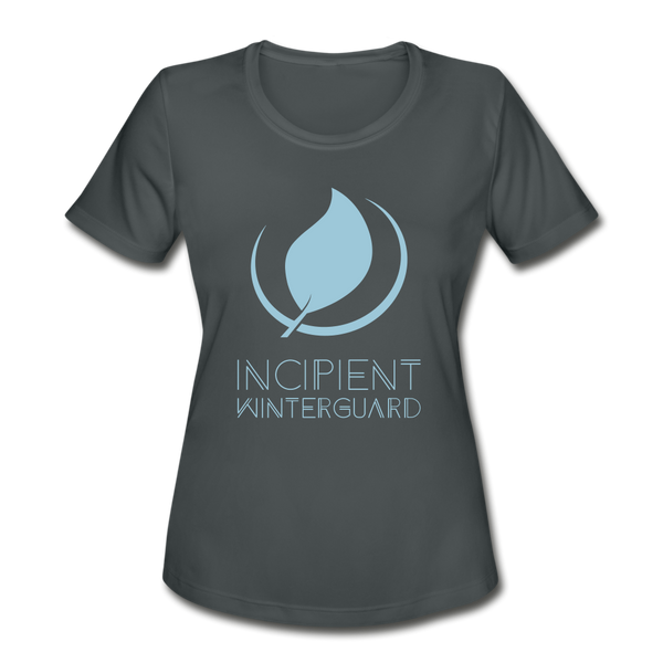 Ladies Incipient Independent Dri-Fit T-Shirt - charcoal