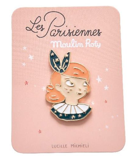 Parisiennes - Constance Enamel Pin - Moulin Roty