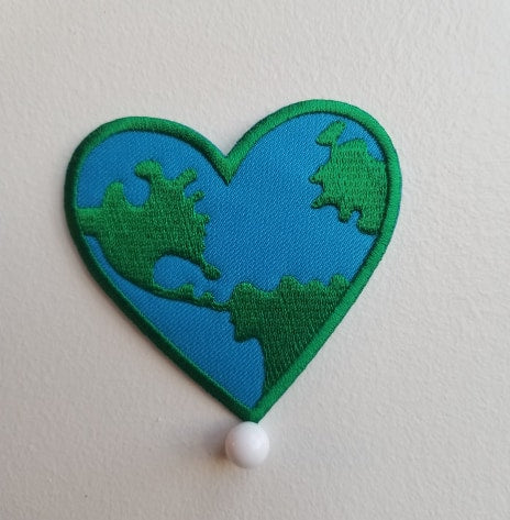 I love my planet patch