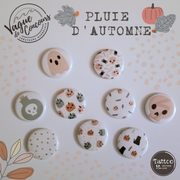 9 Buttons badges or magnets - 1,5'' - Halloween