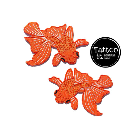 Japanese Koi Fish Patches (Set of 2)