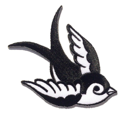 Old School Bird Tattoo Patch