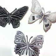 Silver Butterfly Patch #2