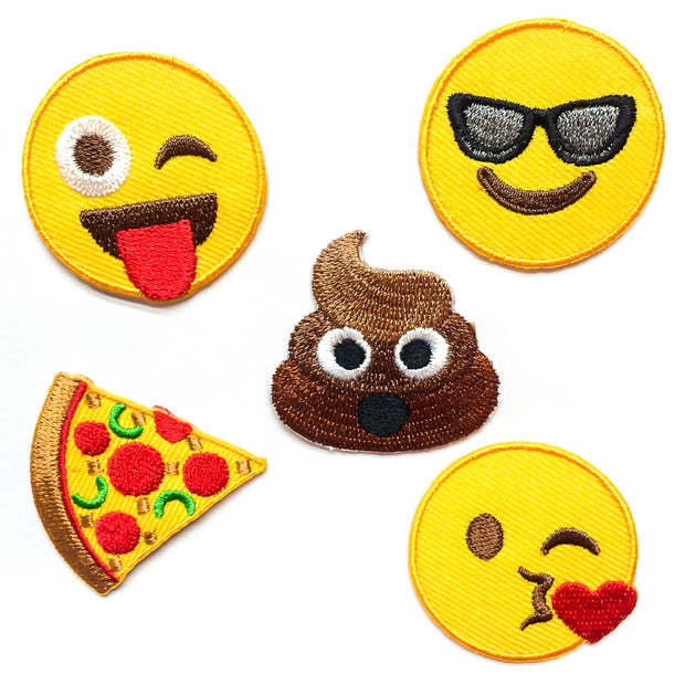 Original EMOJI Patches (Set of 5)