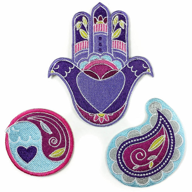 Fatima set patches