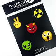 EMOJI BOY'S CLUB Patch Set (5 pieces)