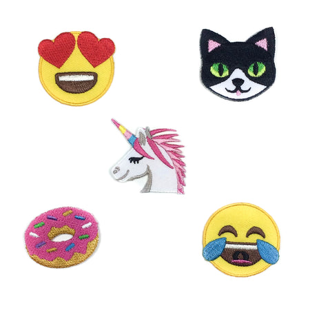 emoji unicorn set of patch