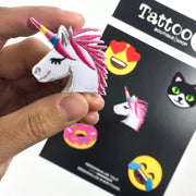 Unicorn EMOJI Patches (Set of 5)