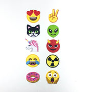 emoji collection iron-on patch
