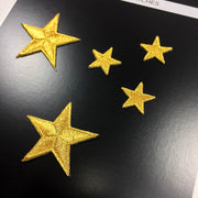 Star Patches for jacket (Set of 5)