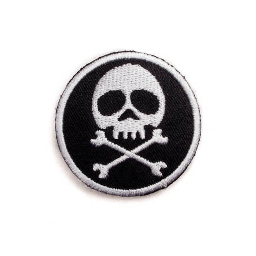 Pirate Skull Flag Patch