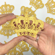 Mini Rockabilly Gold Crown