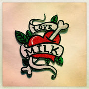 Love Milk Tattoo Patch
