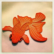 Orange fish patch