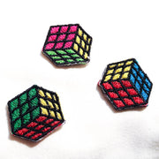 Rubik's Cube - Iron-on Patch