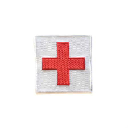 Red Cross Patch - Choose your size