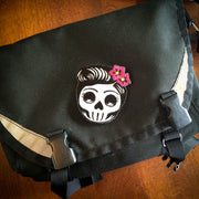 Miss Rockabilly Skull Set (4 Patches)