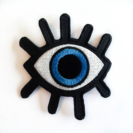 Third eye iron-on patch