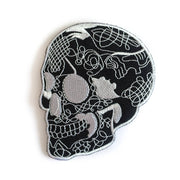 Écusson thermocollant Calavera