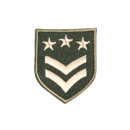 Military Patch - Three Stars Grade
