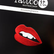 Red Lips Iron-on Patch