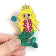 Mermaid Princess Patch