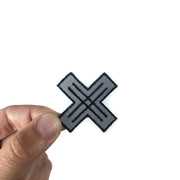 Reflective Stickers - Mini XO (Set of 2)
