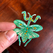 Mantis Patch - Embroidery Sticker
