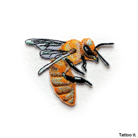 Bee Patch - Embroidery Sticker Patches