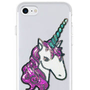 unicorn sticker patch cellphone