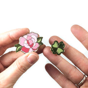 Floral Pin Set (2 Pins)