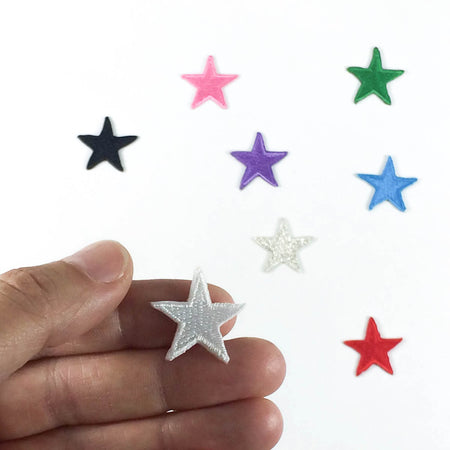 Mini Star Patches (Set of 3)