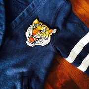 Tiger patch on jacket