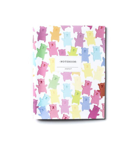 GUMMY BEARS, MINI NOTEBOOK