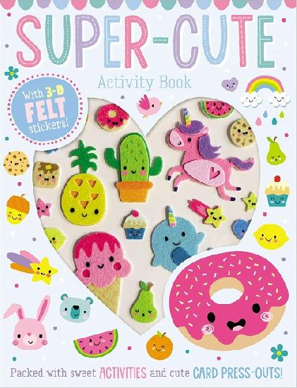 Super-Cute Sticker Activity Book