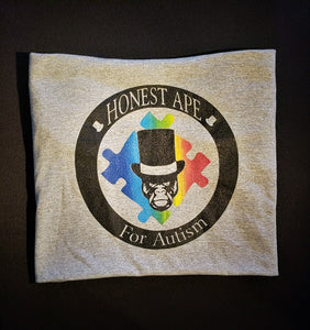 Honest Ape for Autism T-Shirt (Limited Design)