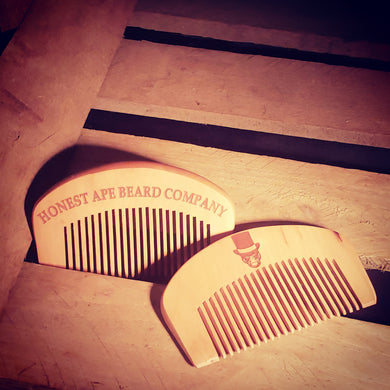 Peachwood Pocket Comb