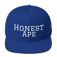 Load image into Gallery viewer, Honest Ape SnapBack - Script (White)
