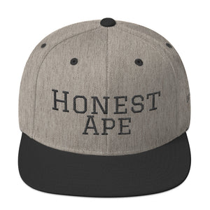 Honest Ape Hat - Script (Black)