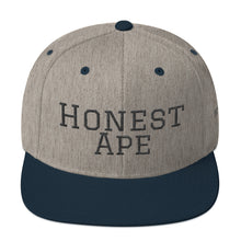 Load image into Gallery viewer, Honest Ape SnapBack - Script (Black)