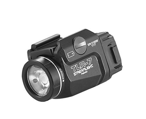 Streamlight 69420 Tlr-7 Low Profile Rail Mounted Tactical Light, Black