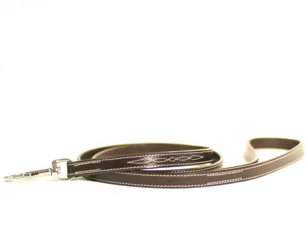 CHEVALIER brown dog lead