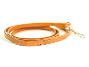 ELEGANT lightbrown dog lead