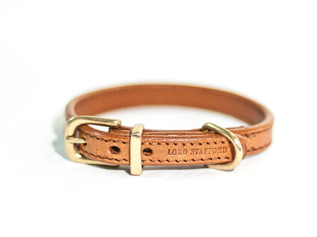 CLASSIC cat leather collar