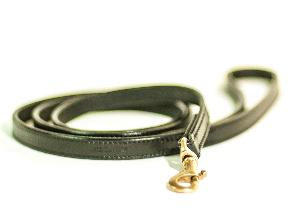 CLASSIC black dog lead